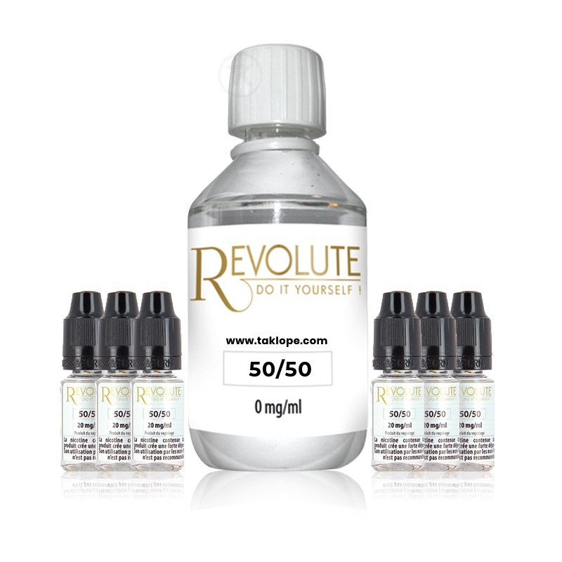 Revolute Pack Base/Booster 50/50 200ml  Revolute